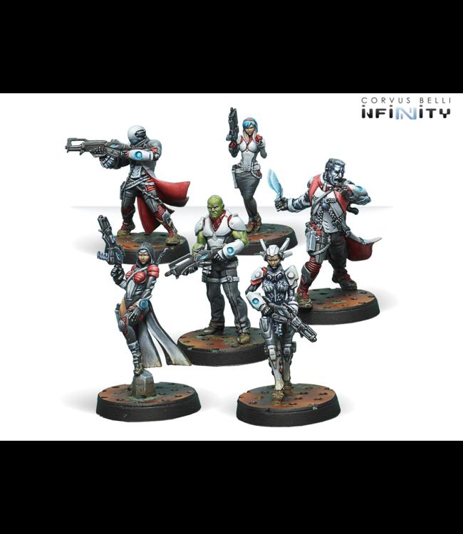 Infinity Bakunin Jurisdictional Command (Nomads Sectorial Starter Pack)