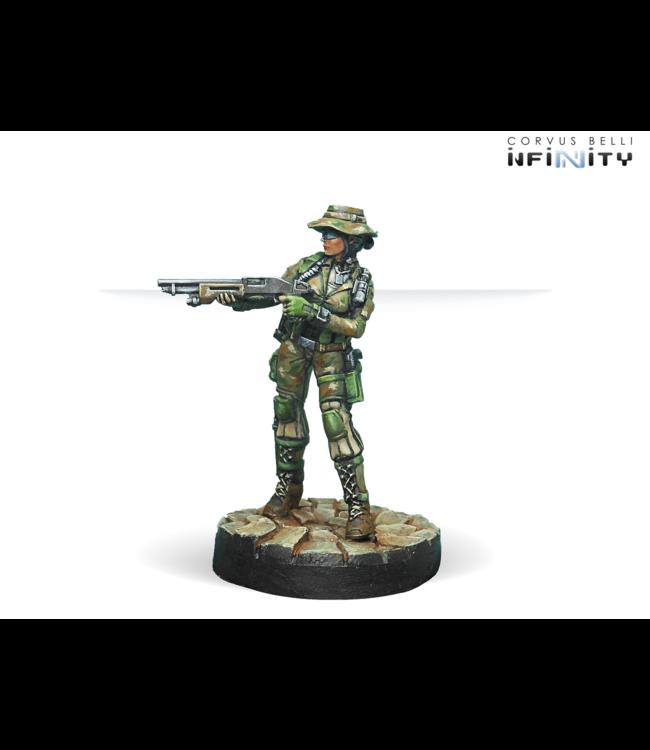 Infinity Foxtrot Rangers (Boarding Shotgun)
