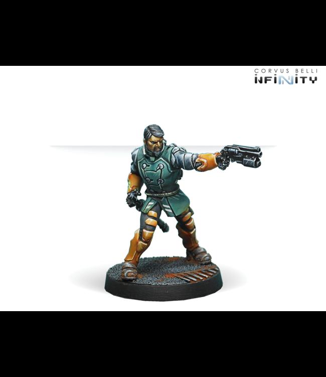 Infinity Kanren Counter-insurgency Group (Boarding Shotgun, Chain-Colt)