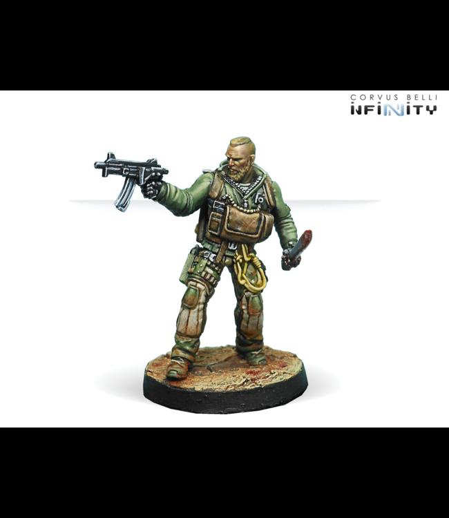 Infinity 6th Airborne Rangers Reg. (Submachine Gun)