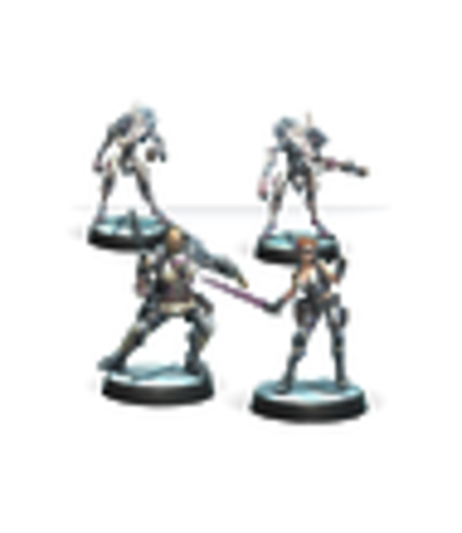 Infinity Drakios & Scylla, Steel Phalanx's NCO