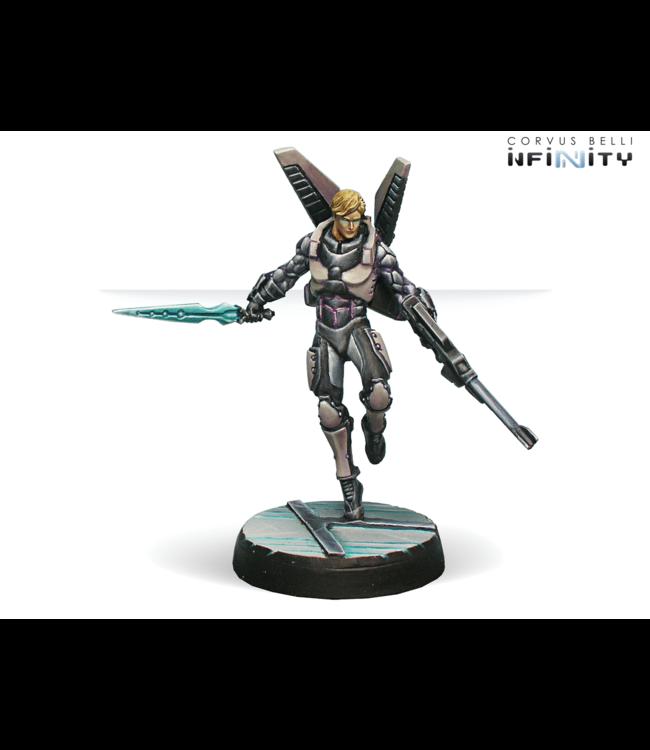 Infinity Diomedes, Ekdromoi Officer (Mk12, Nanopulser)