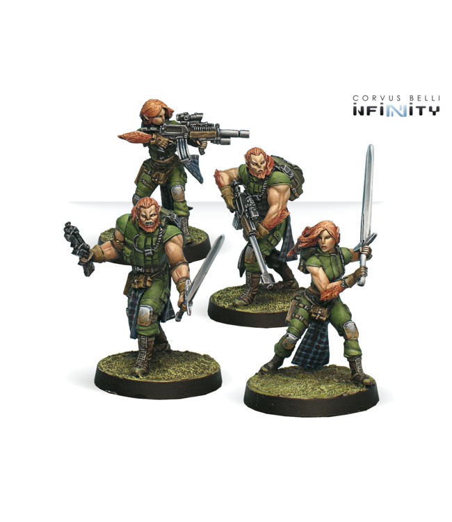 Infinity 9th Wulver Grenadiers Regiment