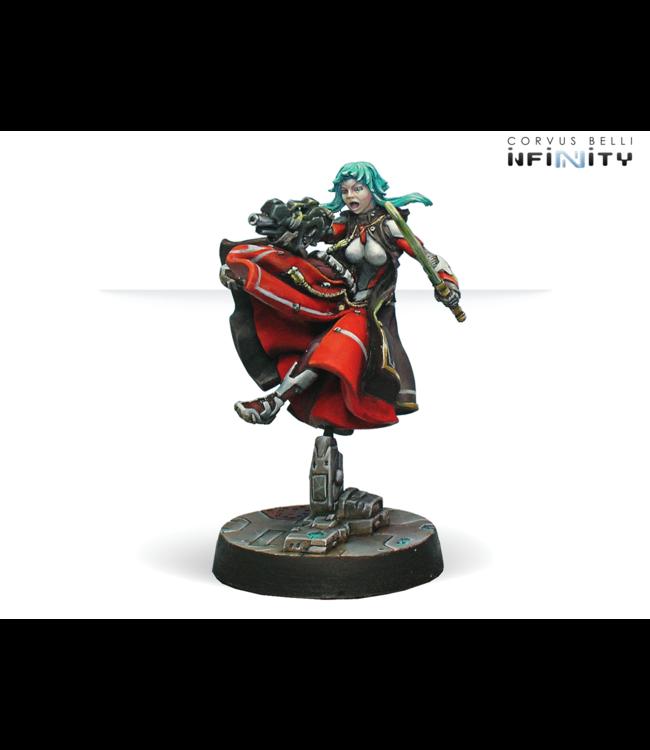 Infinity Cassandra Kusanagi (MULTI Rifle + Light Flamethrower, Shock CCW)