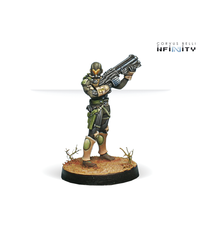 Infinity Hassassin Farzans (Boarding Shotgun, Contender)