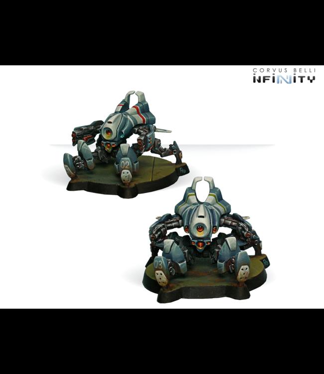 Infinity Armbots Bulleteer (Spitfire, Heavy Shotgun)