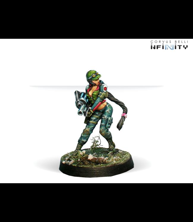 Infinity Chasseurs (Adhesive-Launcher)