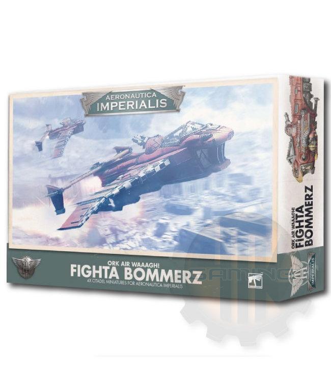 Aeronautica Imperialis A/I: Ork Air Waaagh! Fighta Bommerz