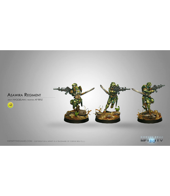 Infinity Asawira Regiment (AP Rifle)