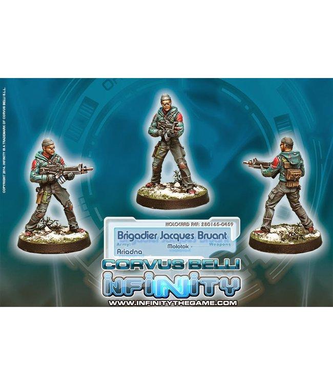 Infinity Brigadier Jacques Bruant, Sous-officier des Metros (Molotok)