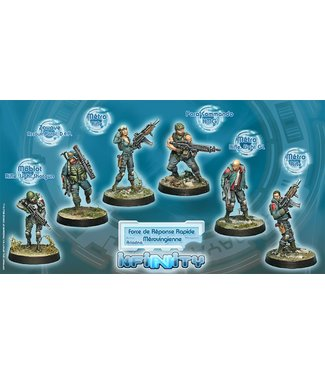 Infinity Force de Reponse Rapide Merovingienne (Ariadna Sectorial Starter Pack)