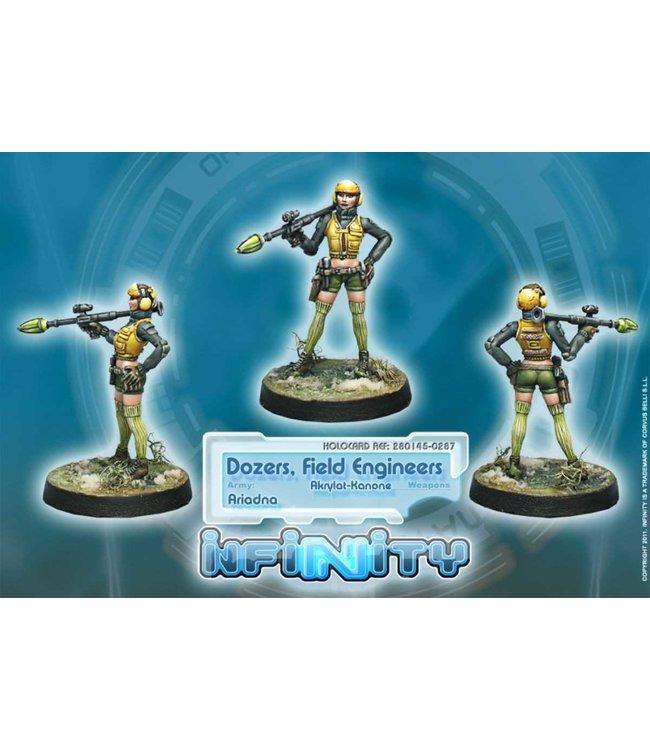 Infinity Dozers, Field Engineers (Akrylat-Kanone)