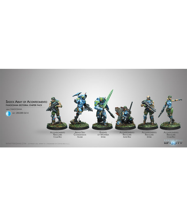Infinity Acontecimento Shock Army (PanOceania Sectorial Starter Pack)
