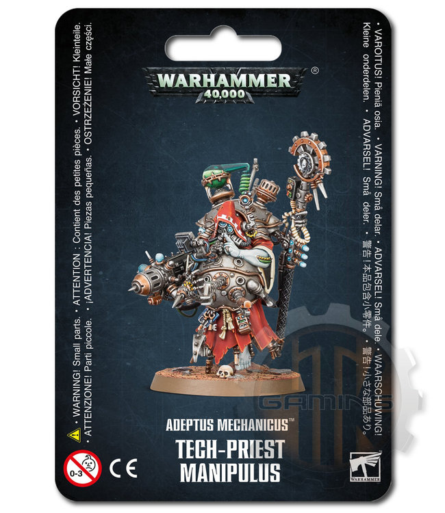 Warhammer 40000 Adeptus Mechanicus Tech-Priest Manipulus