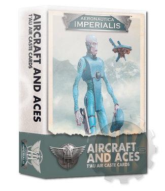 Aeronautica Imperialis A/I:Aircraft & Aces T'Au Air Caste Cards