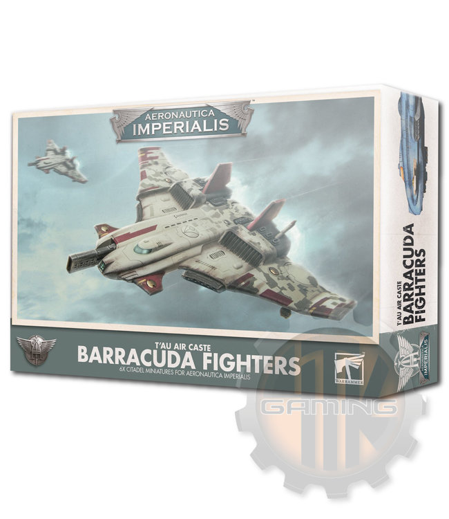 Aeronautica Imperialis A/I: T'Au Air Caste Barracuda Fighters