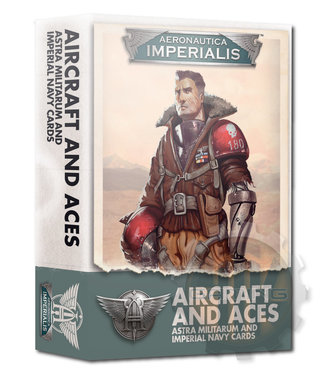 Aeronautica Imperialis A/I: Aircraft & Aces Imperial Navy Cards