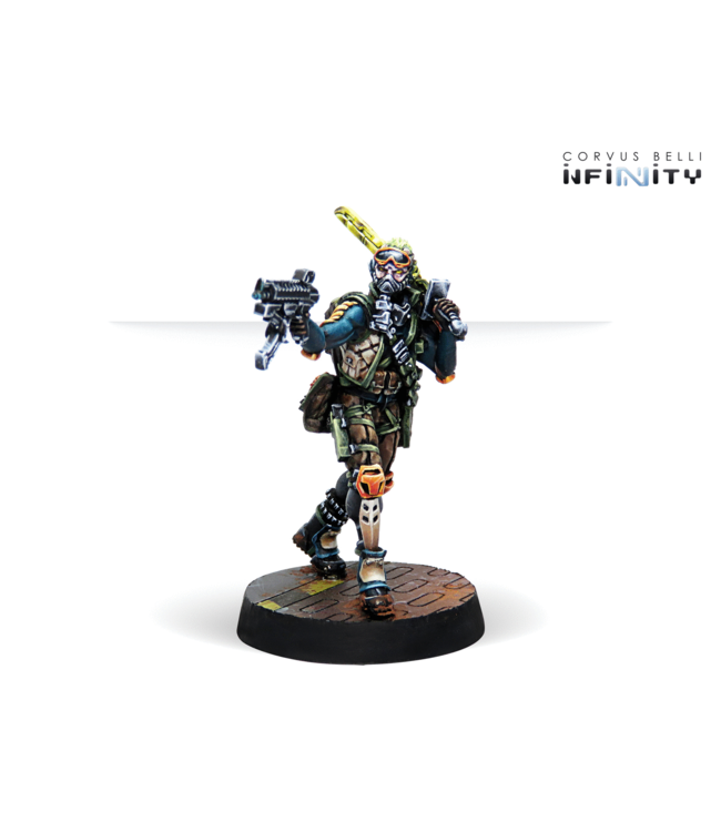 Infinity Cube Jagers, Mercenary Recoverers (SMG)