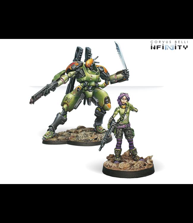 Infinity Scarface and Cordelia, Mercenary Armored Team
