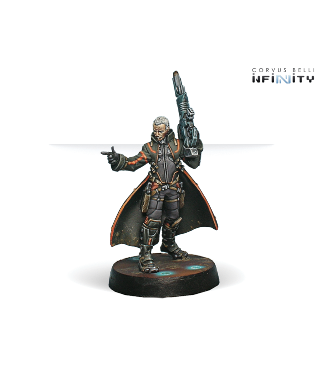 Infinity Father Lucien Sforza, Authorized Bounty-Hunter (Viral Rifle + ADHL)