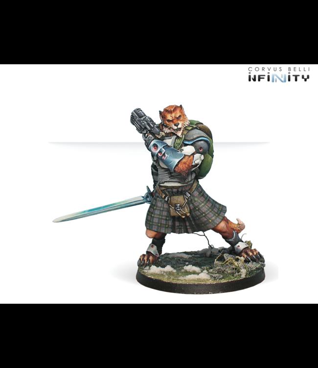 Infinity Tearlach McMurrough (2 Chain Rifle, Templar CCW) NEW