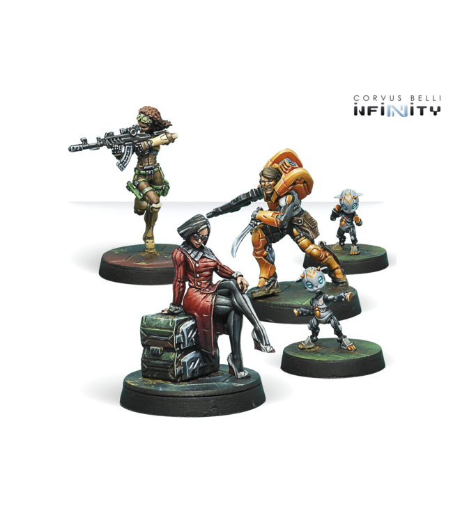 Infinity Dire Foes Mission Pack 6. Defiant Truth