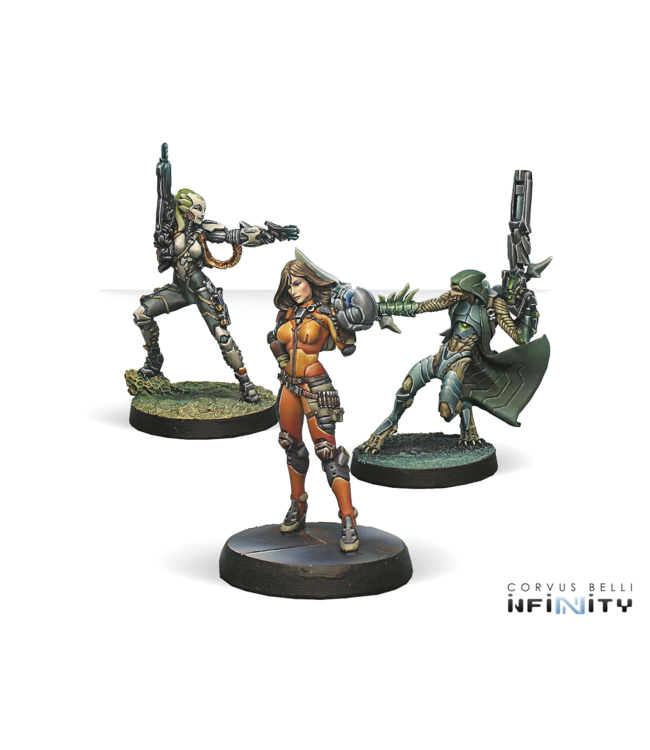 Infinity Dire Foes Mission Pack 5: Viral Outbreak