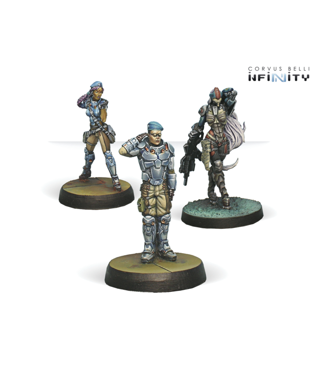 Infinity Dire Foes Mission Pack 1: Train Rescue