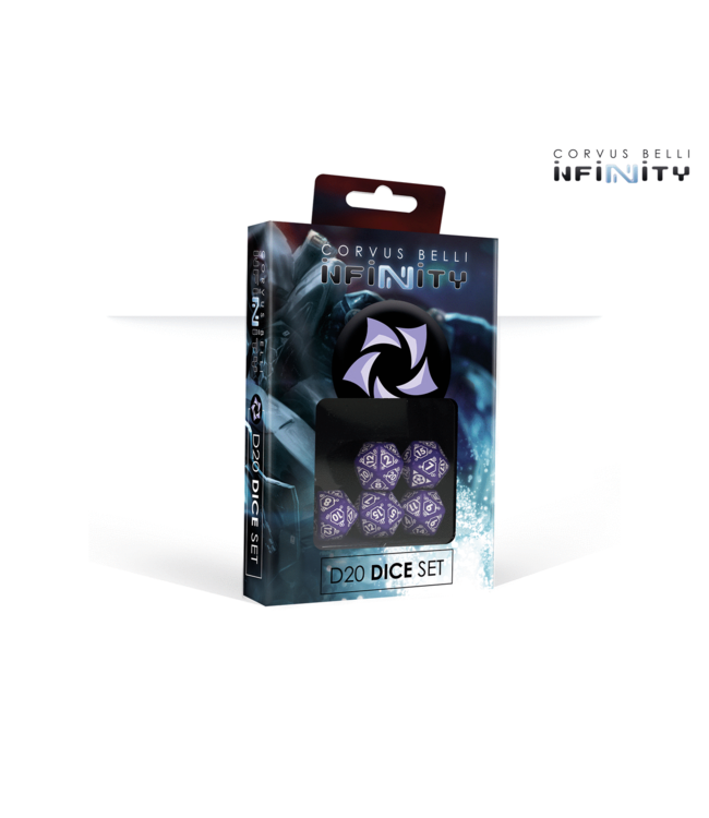 Infinity Combined Army D20 Dice Set