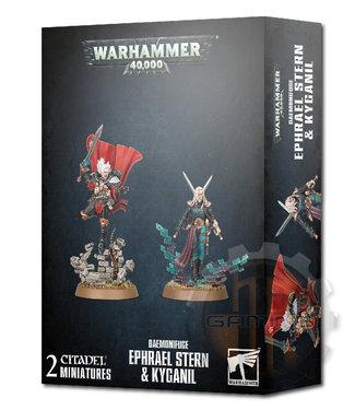 Warhammer 40000 Daemonifuge Ephrael Stern & Kyganil