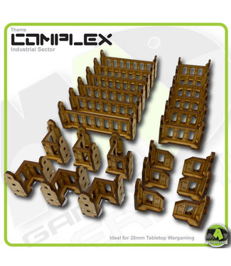 MAD Gaming Terrain Industrial  balustrades