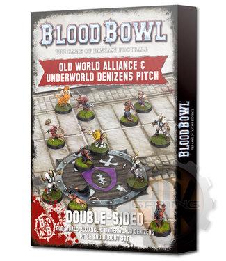 Blood Bowl Blood Bowl: Old World + Underworld Pitch