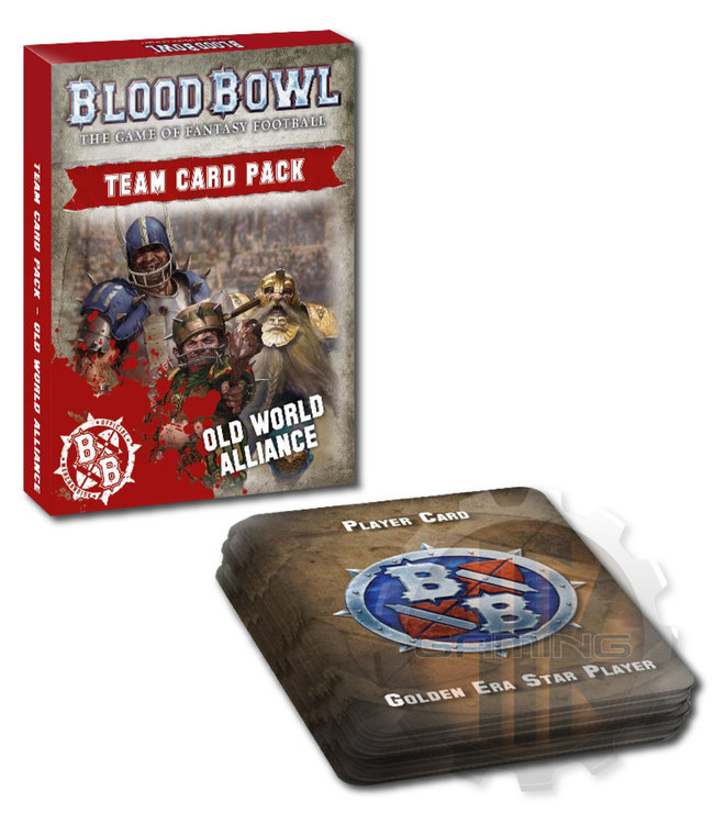 Blood Bowl *Bb: Old World Alliance Team Card Pack