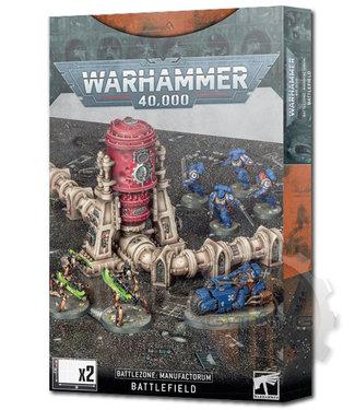 Warhammer 40000 40K: Battlezone Manufactorum Battlefield