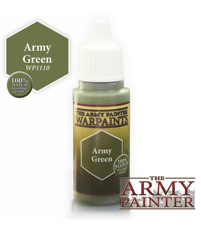 Army Painter Warpaint - Army Green