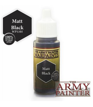 Army Painter Warpaint - Matt Black