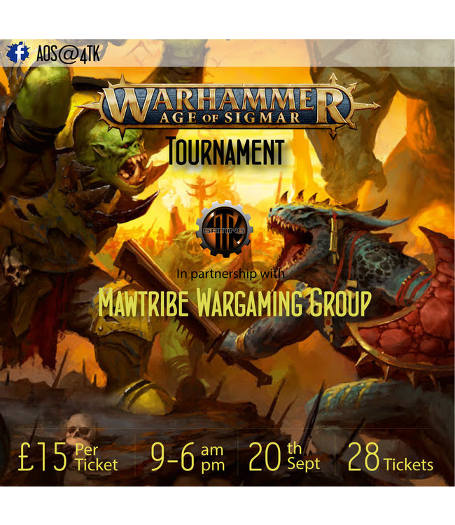 Tournaments AOS Tournament (Sun 20th Sept 2020)