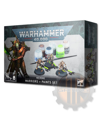 Warhammer 40000 Necrons Warrior Paint Set