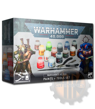 Warhammer 40000 Warhammer 40000 Paints + Tools