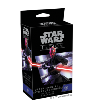 Star Wars Legion Darth Maul and Sith Probe Droids Operative Expansion