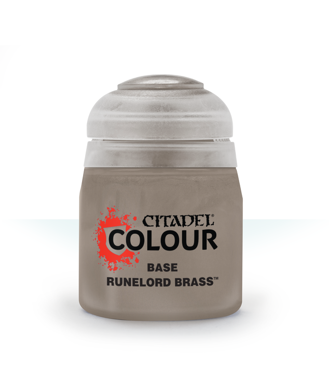 Citadel Base: Runelord Brass