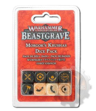 Warhammer Underworlds Whu: Morgok'S Krushas Dice Set