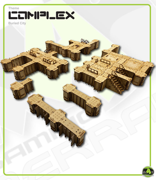 MAD Gaming Terrain Buried City - Starter Edition Bundle
