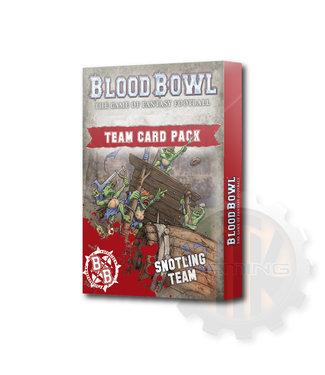 Blood Bowl Blood Bowl: Snotling Team Card Pack