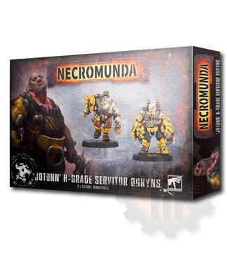 Necromunda Jotunn H-Grade Servitor Ogryns