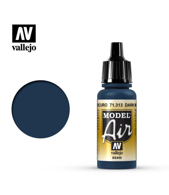 Vallejo Model Air  - Dark Mediterranean Blue