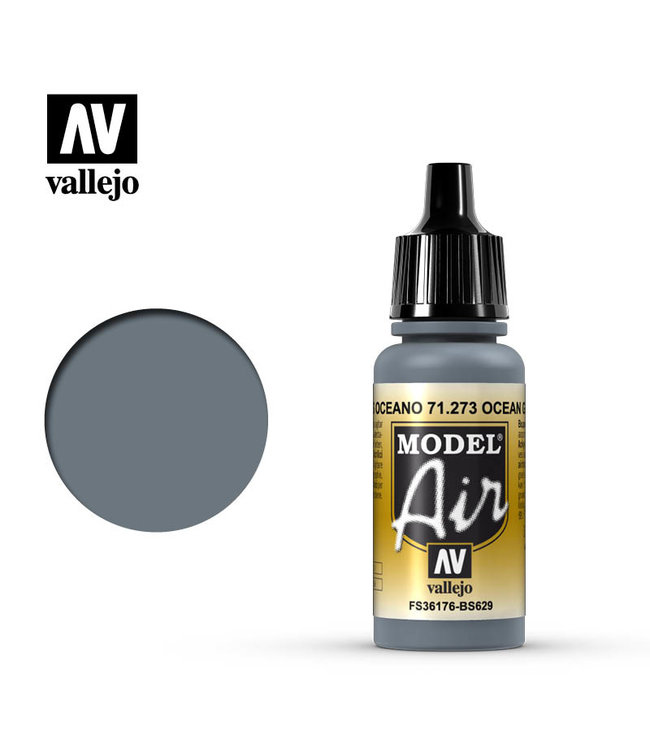 Vallejo Model Air  - Ocean Gray