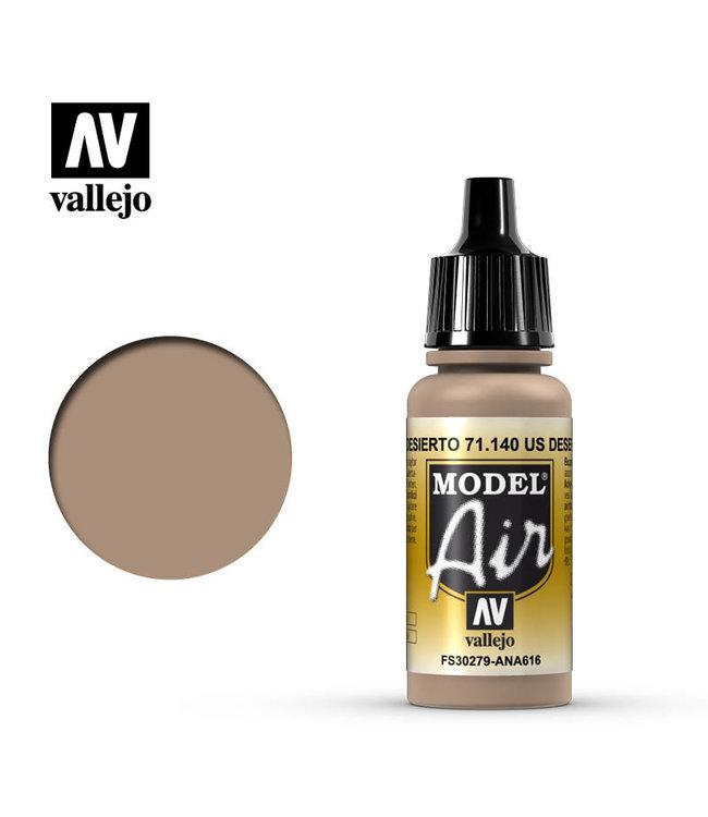 Vallejo AV Model Air 17ml - US Desert Sand (FS30279)
