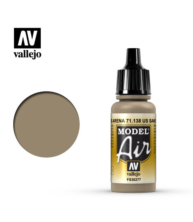 Vallejo AV Model Air 17ml - US Sand (FS30277)