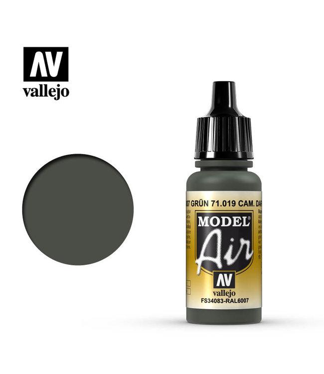 Vallejo Model Air - Camouflage Dark Green